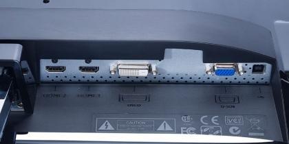 BenQ EW2430 ports 1