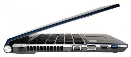 Acer Aspire TimelineX left