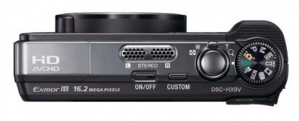 Sony Cyber-shot DSC-HX9V top