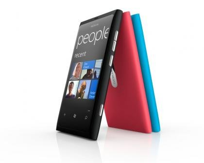 Nokia Lumia 800 colours