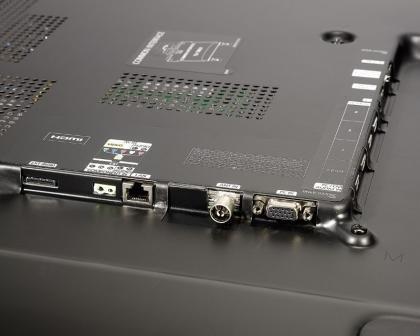 Samsung PS51D6900 rear ports bottom
