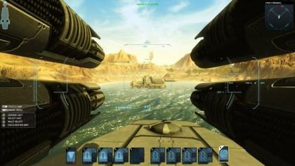 Carrier command guns
