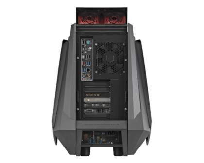 Asus Republic of Gamers Tytan CG8890 - rear view