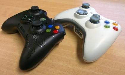 Razer Sabertooth vs Xbox controller