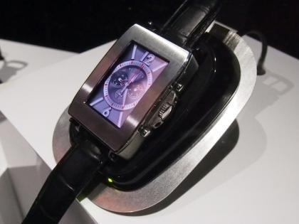 Toshiba smartwatch prototype