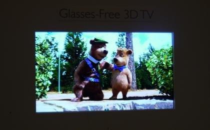 Philips glasses free TV