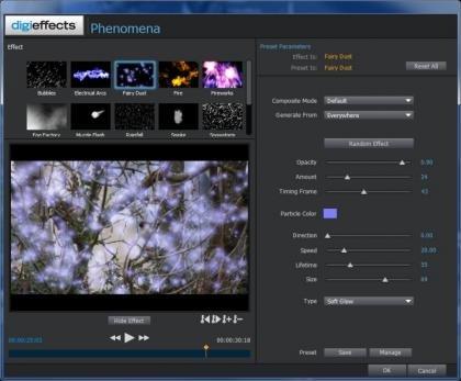 Magix Movie Edit Pro 2013 Particle Effects