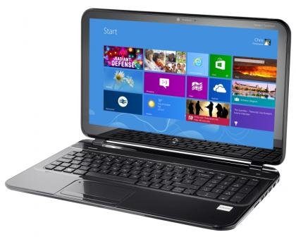 HP Pavilion TouchSmart 15 Sleekbook