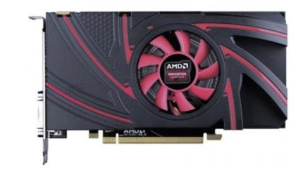 AMD Radeon R9 270 Side Shot