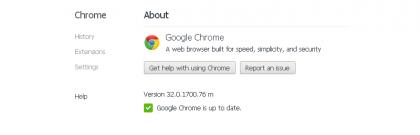 Windows XP Chrome
