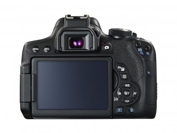 Canon EOS 750D back