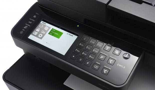 Control panel, Dell H825cdw