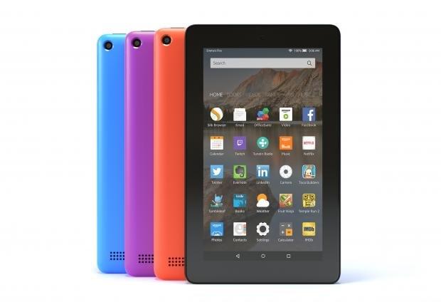 Amazon Fire tablet colour options