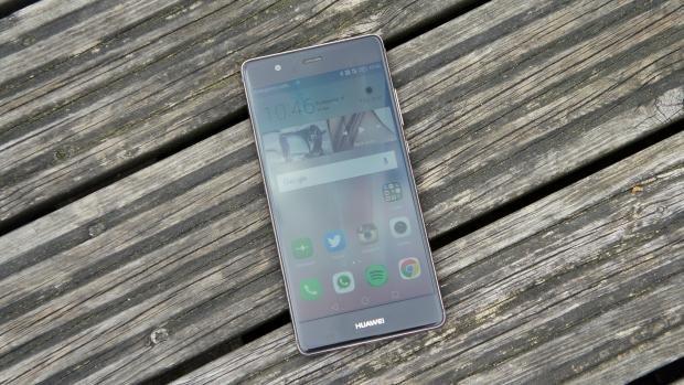 Huawei P9 top angle