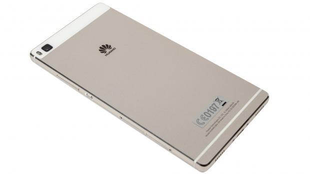 Huawei P8 rear 3/4 angle
