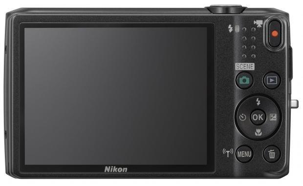 Nikon S6800 back
