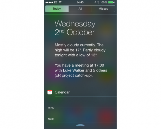 Apple iOS 7 Today