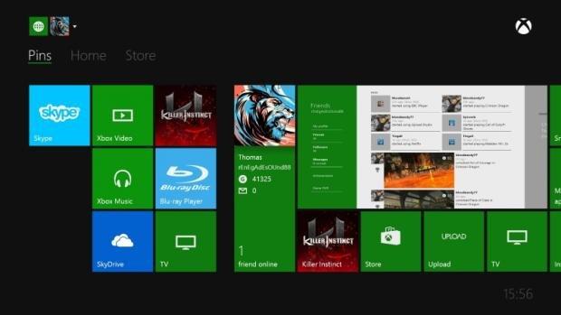 Xbox One UI