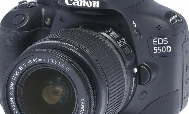 Canon EOS 550D front