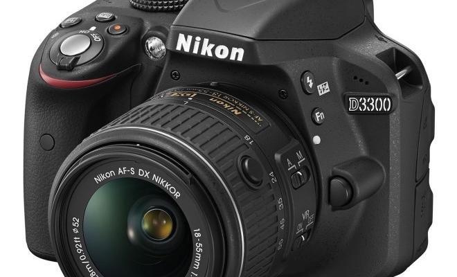 Nikon D3300 lens