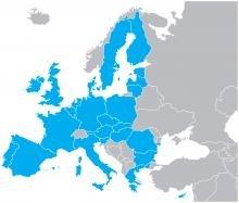 Map the EU (shutterstock)