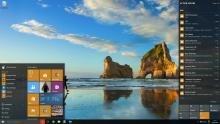 Windows 10 desktop view