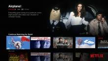 4th Gen Apple TV Netflix main menu