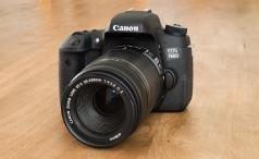 Canon EOS 760D angle