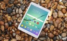 Samsung Galaxy Tab S2 three-quarters