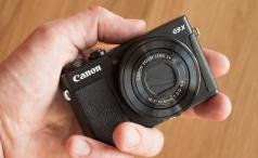 Canon PowerShot G9 X handheld