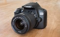 Canon EOS 1300D front