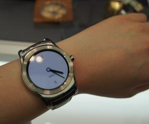 LG Watch Urbane front