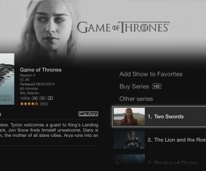 Apple TV TV store