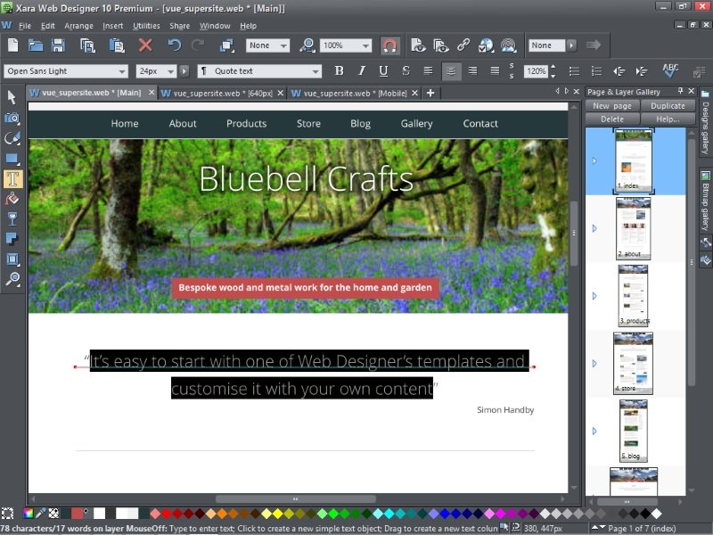 Xara Web Designer 10 Premium Review Expert Reviews