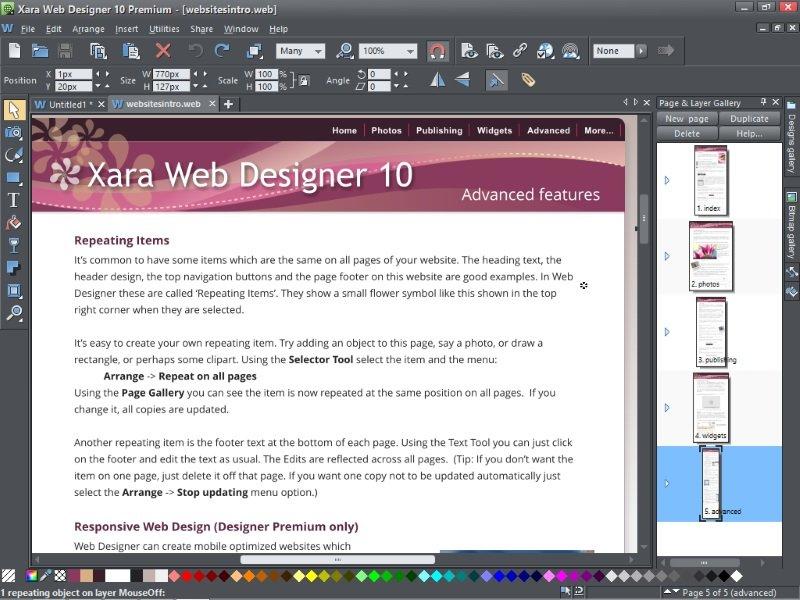 Xara Web Designer 10 Premium Review Expert Reviews