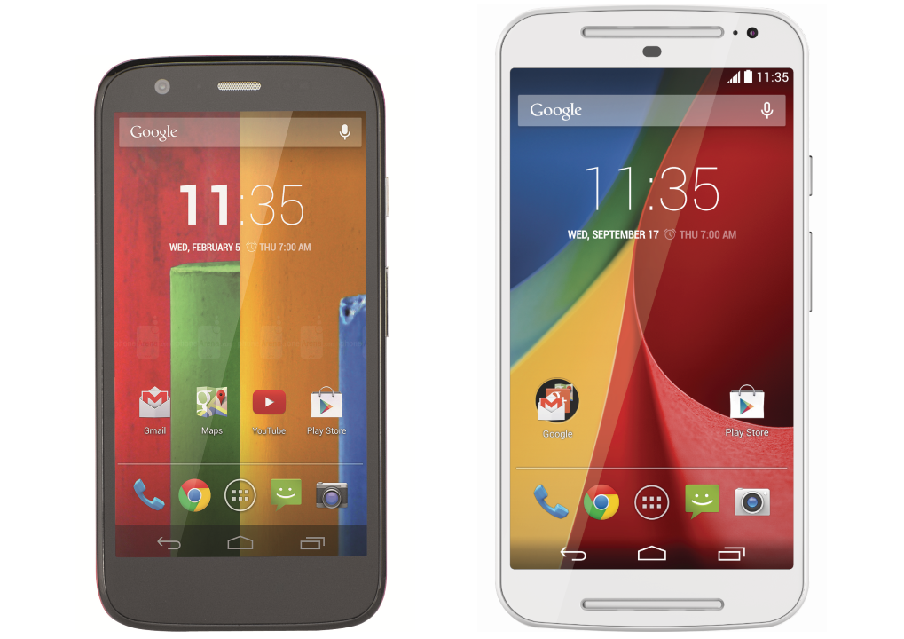 Compare Phones Side By Side >> New Moto G G2 2014 Vs Moto G 2013 Which Is Best Expert Reviews
