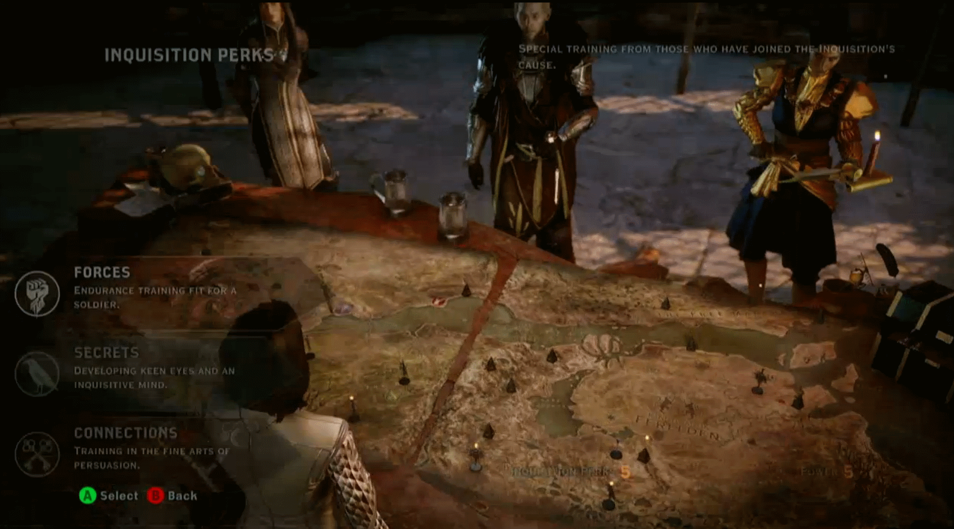 Dragon Age Map on
