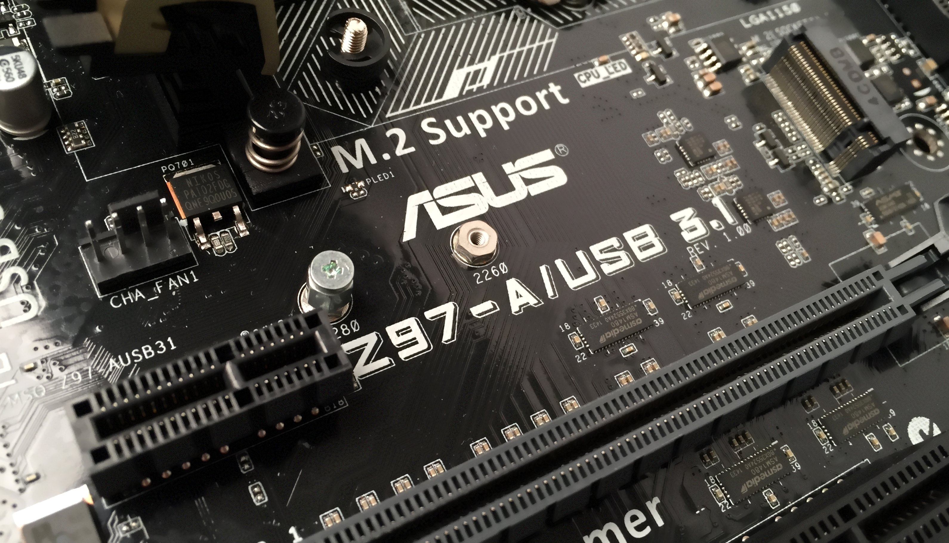 Asus Z97-A/USB 3.1 Motherboard Driver for Windows 7