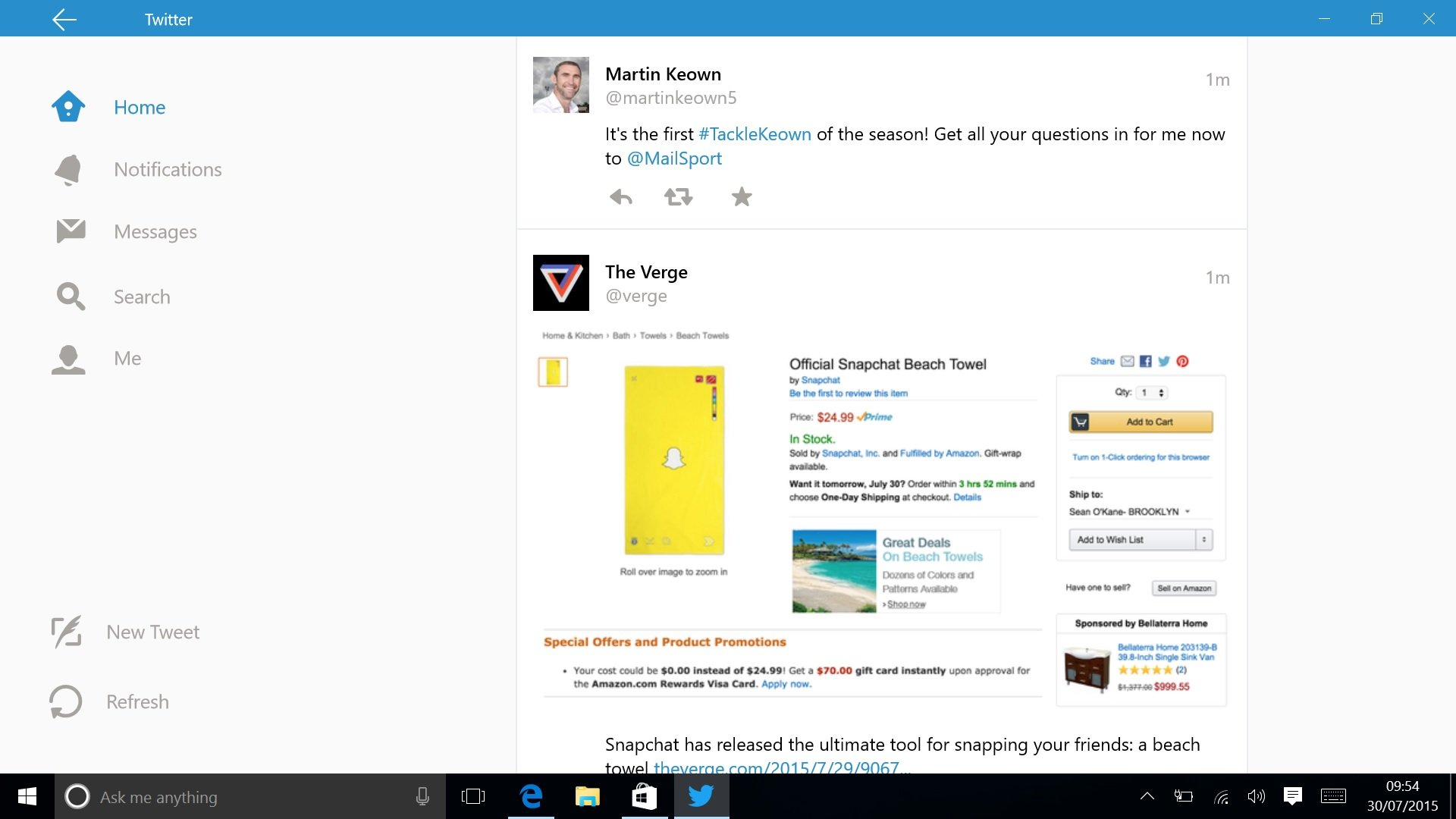 At last! Twitter gets a Windows app update | Expert Reviews