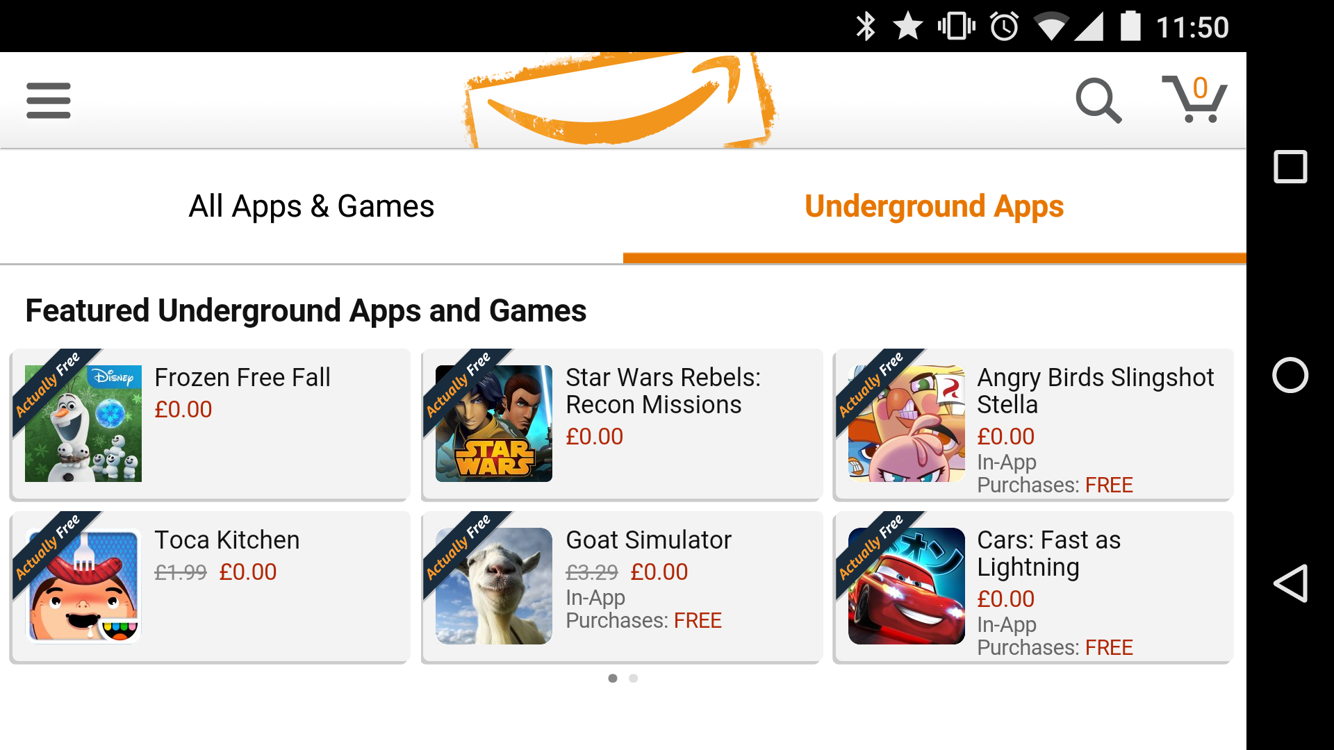 Amazon Underground wants to kill off in-app purchases