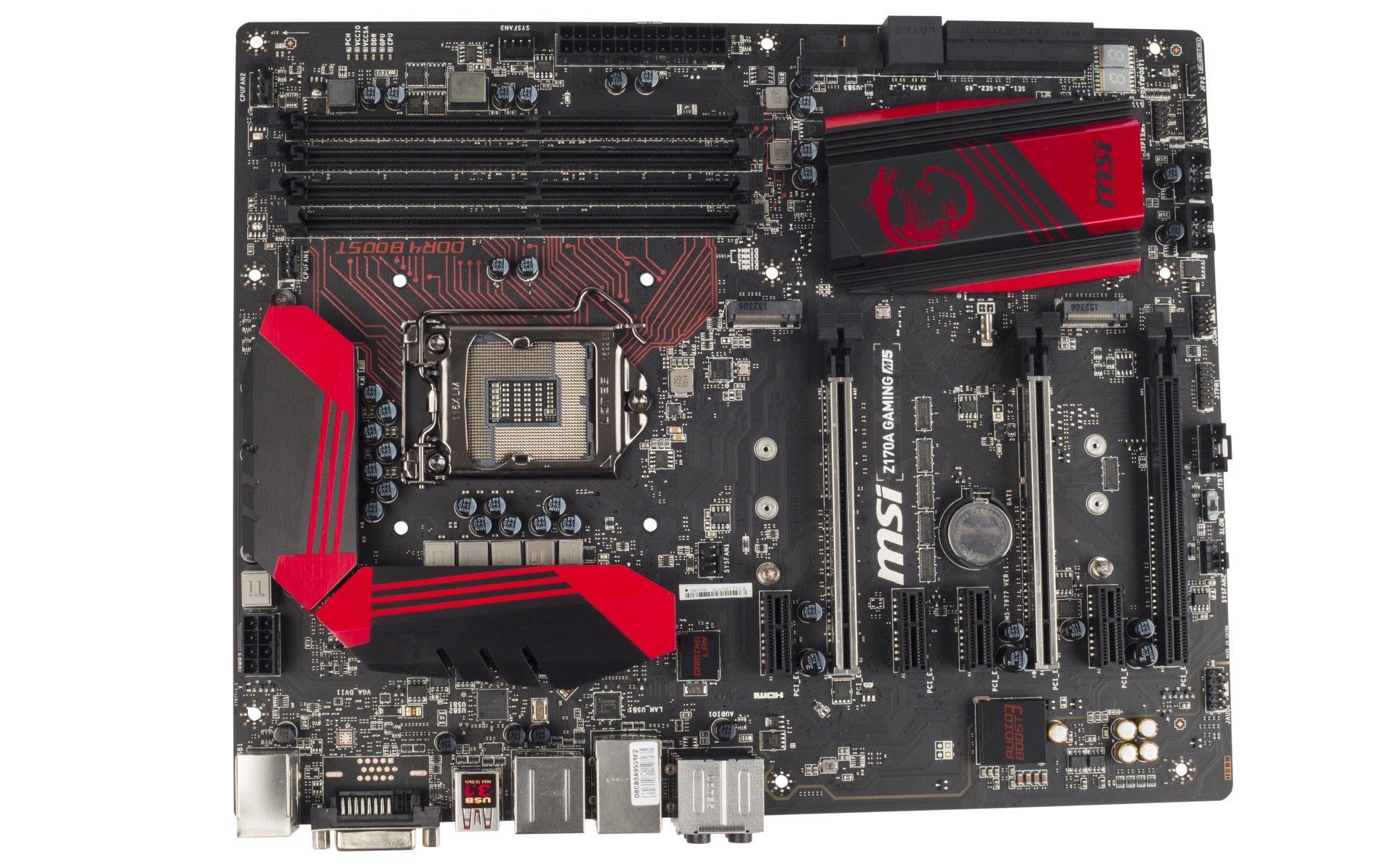 MSI Z170A GAMING M5 LGA 1151 Intel Z170 HDMI SATA