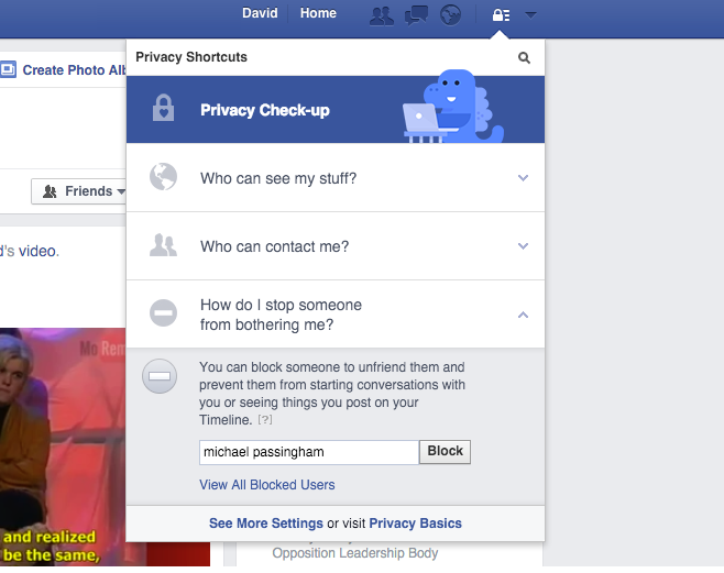 can you unblock a person on facebook