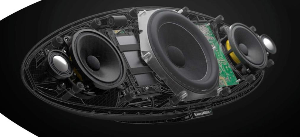 New Drivers: B&W Zeppelin Speakers