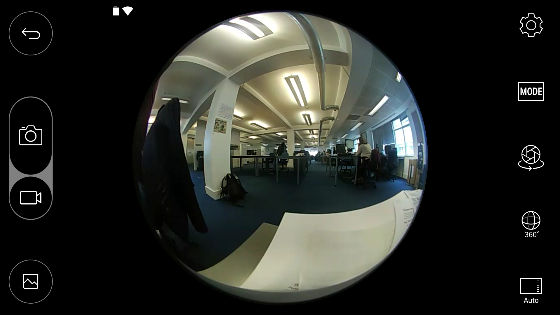 360 degree camera app for android