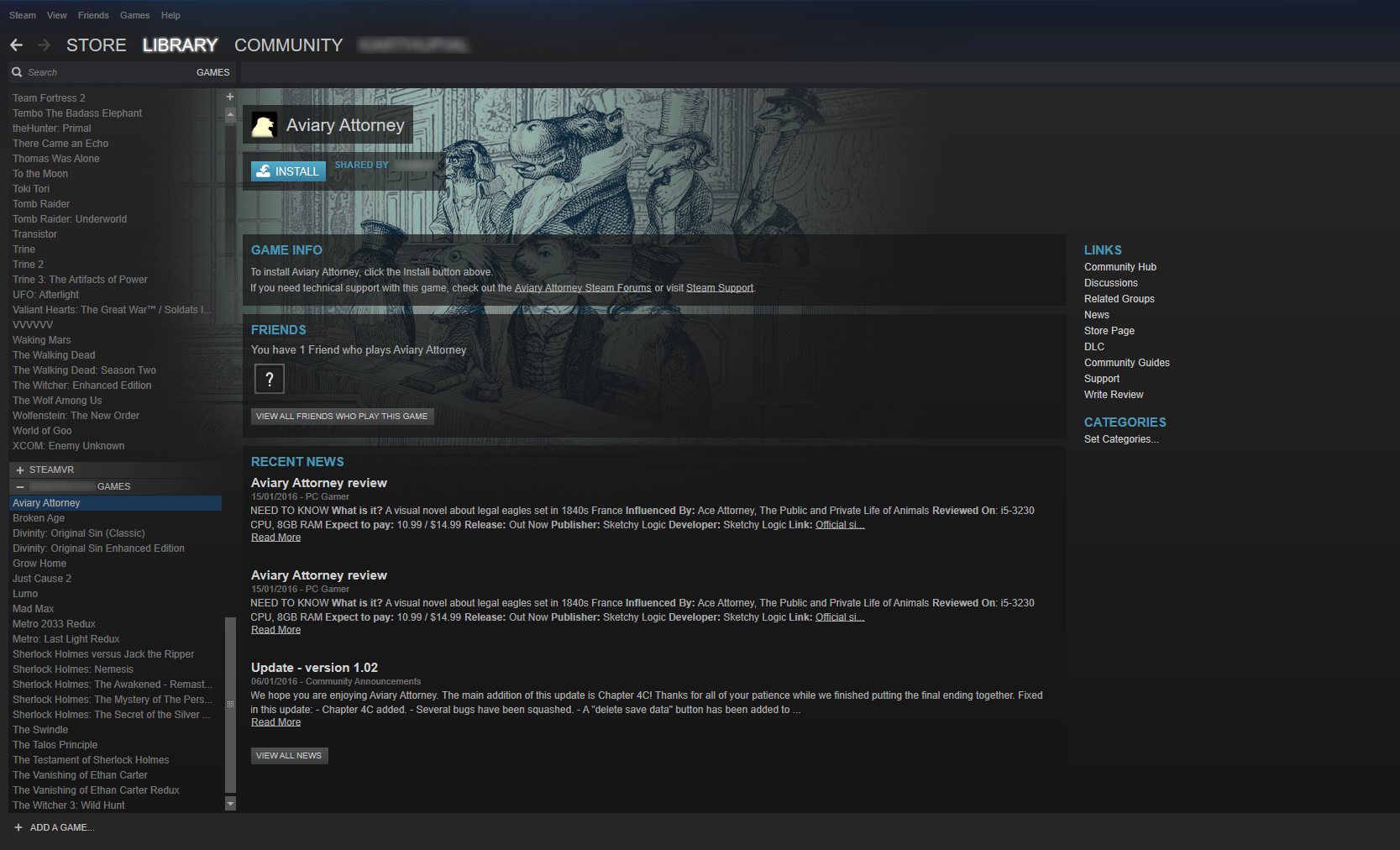 How to share Steam games - WebSetNet