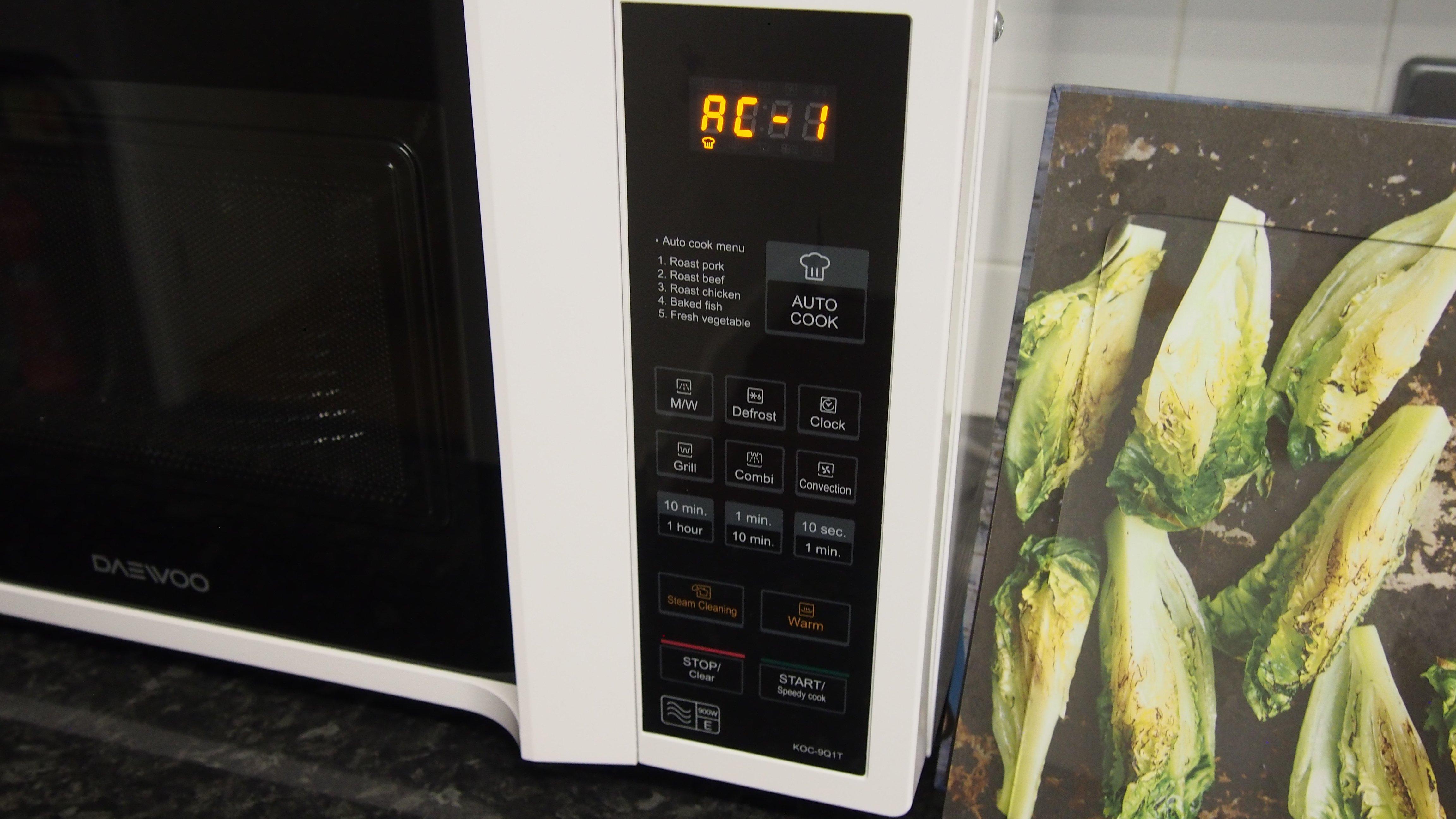 daewoo microwave edition 1 manual