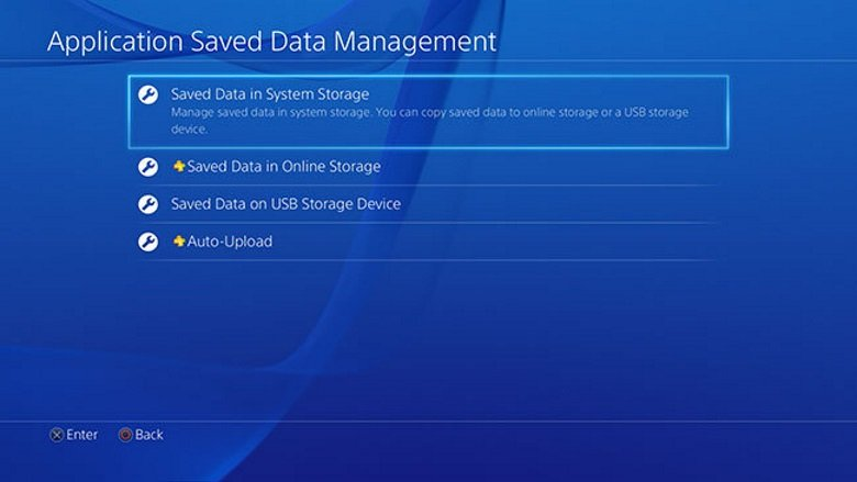 downloaded ps4 accidentally save i older an