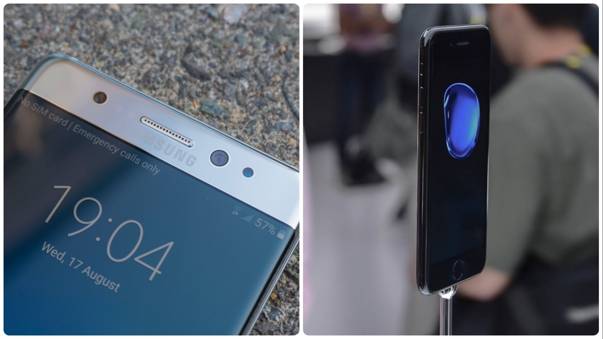 iPhone 7 Plus vs Samsung Galaxy Note 7: Which one is the king of the phablet?