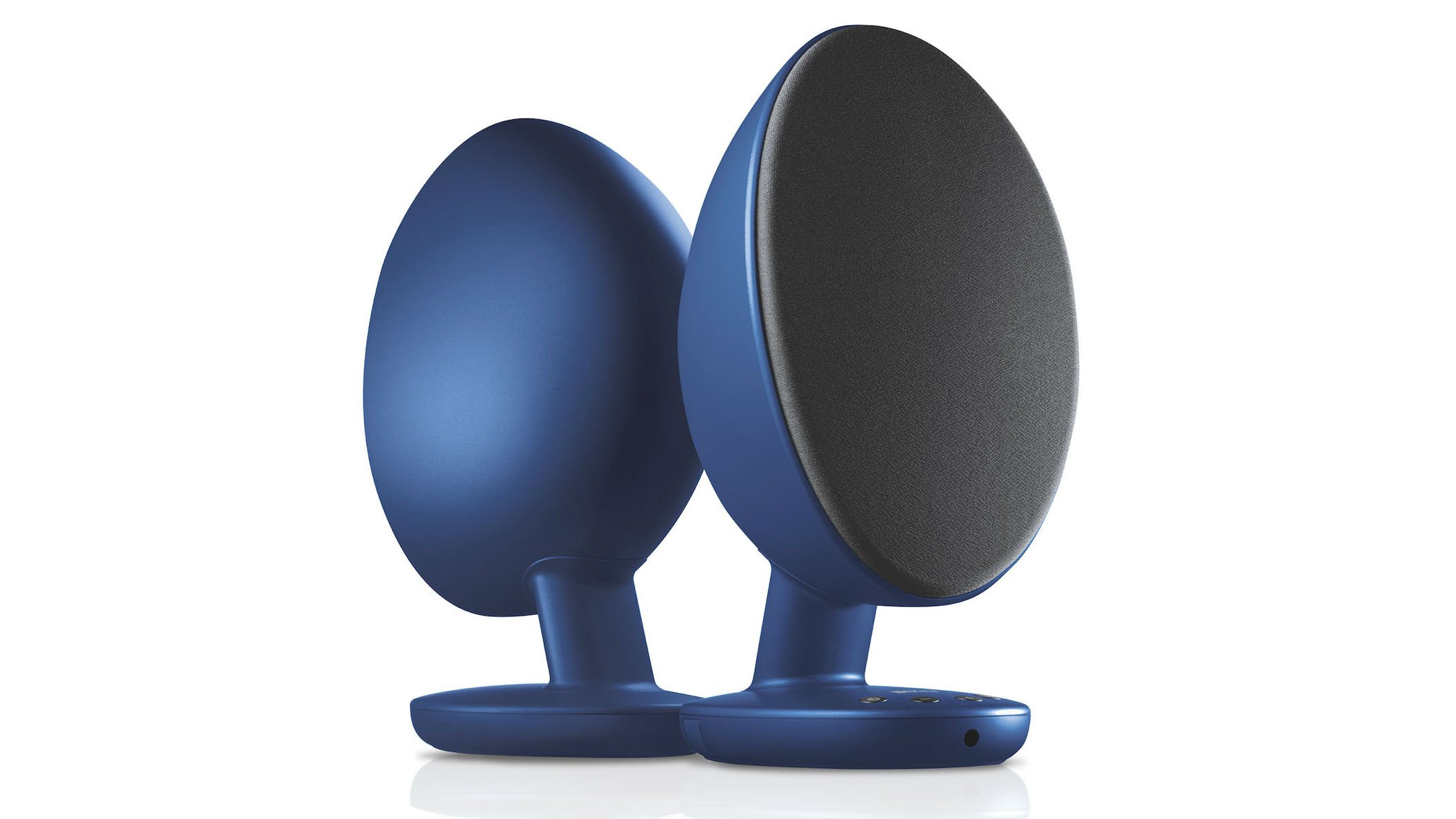 Best Pc Speakers 2018 The Black Friday Deals For Gaming And Hi Fi Speaker System Kefs Trademark Egg Design Is Certainly Eye Catching But Its Not Just Show Do A Really Good Job Of Radiating Sound All Around