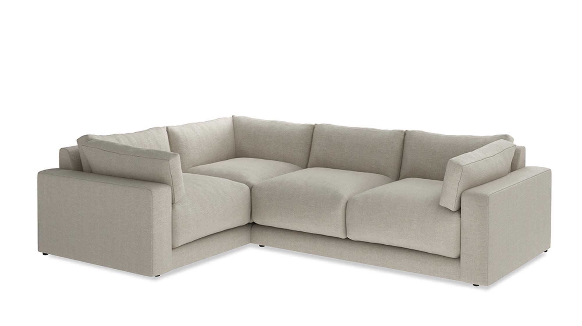Merveilleux Corner Sofas First Took Off In The 1970s When Open Plan Living Became  Popular. Now Theyu0027re Back In Vogue, With This British Made Option From Loaf  A Fabulous ...